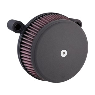 Arlen Ness Smooth Stage 1 Big Sucker Air Cleaner Kit For Harley 2017-2018 (Finish: Black) 1245618