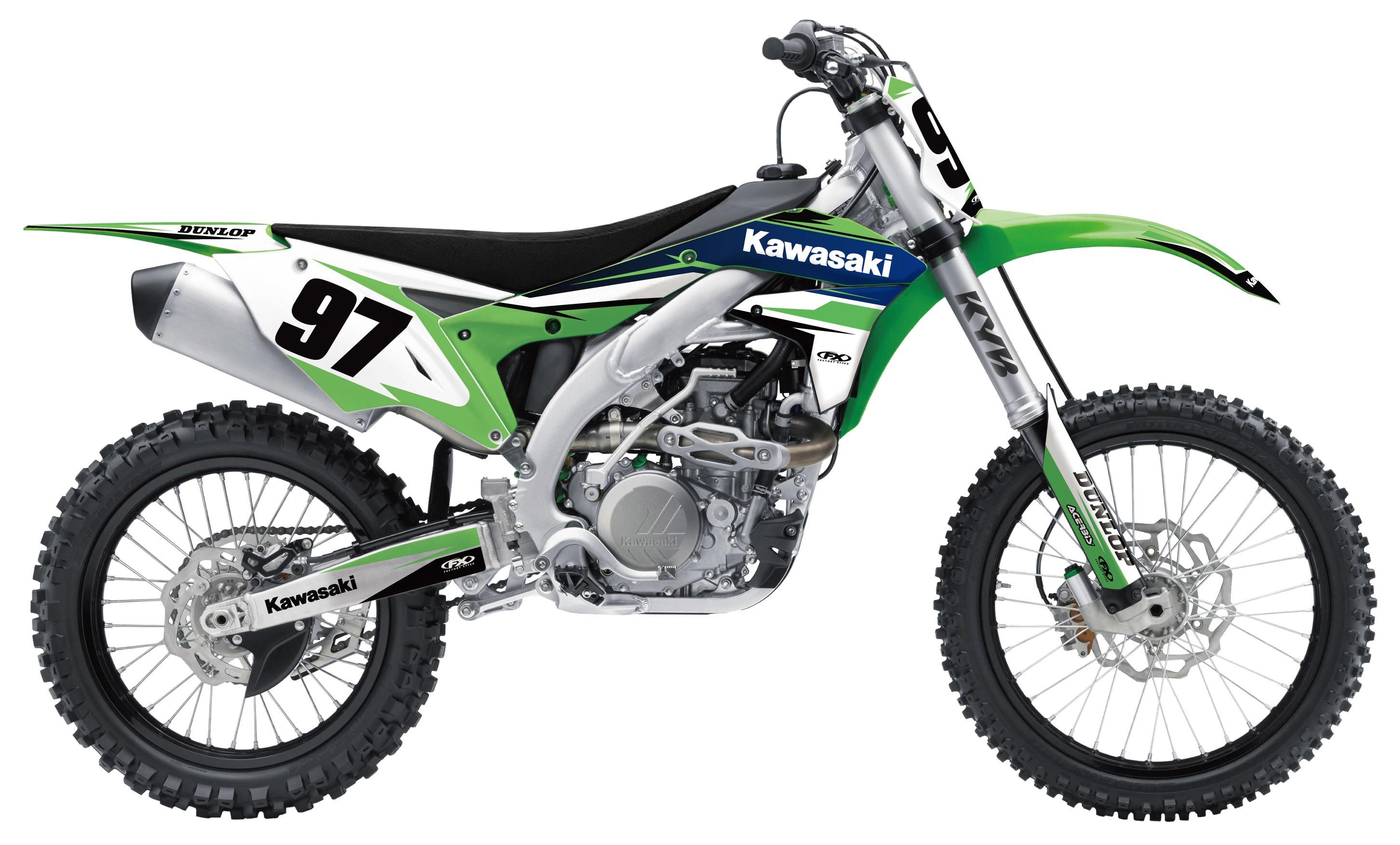 Fits ACERBIS REAR FENDER Kawasaki KX85,KX100,KX80,KX80 Big Wheel Suzuki GREEN