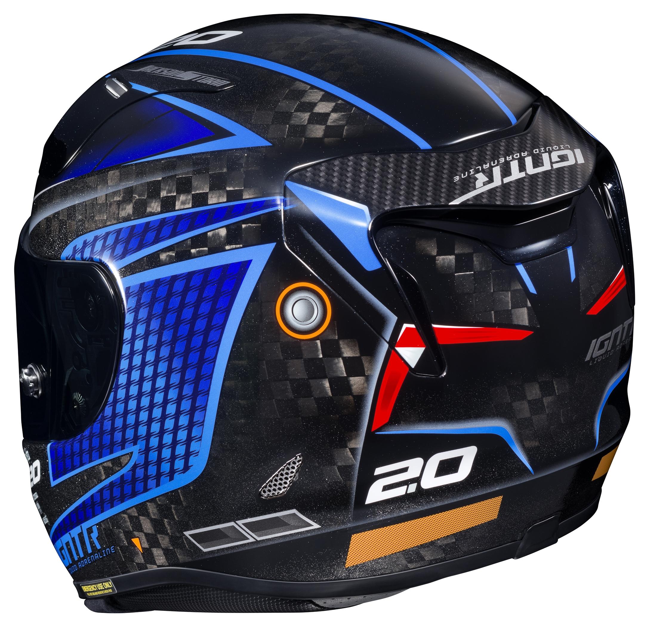 Hjc Rpha 11 >> Hjc Rpha 11 Pro Carbon Jackson Storm Helmet Cycle Gear