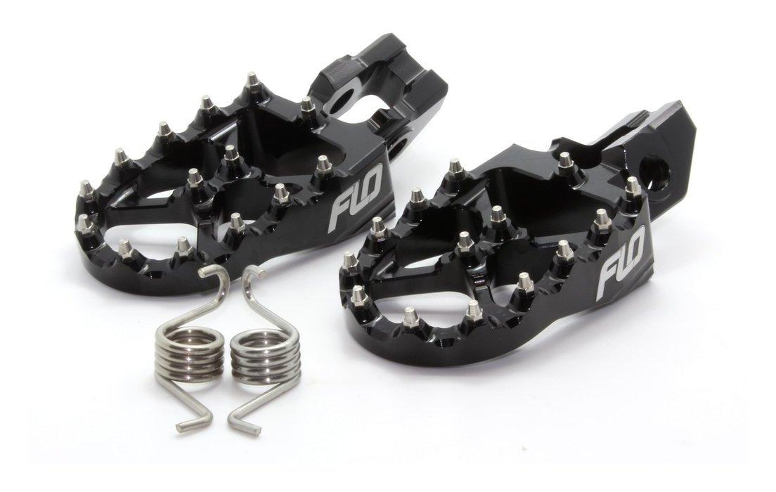 Flo Motorsports 2.0 Pro Series Foot Pegs Orange For KTM Husky FPEG-795-2 ORG