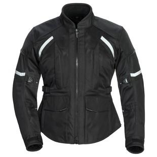 Tour Master Sonora Air 2.0 Women's Jacket (Color: Black / Size: LG (Plus)) 1247096