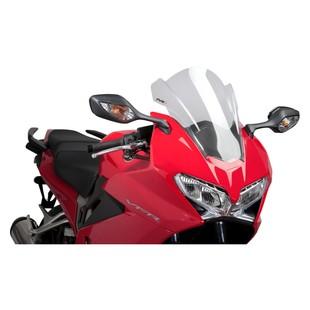 Puig Racing Windscreen Honda VFR800 2014-2015 (Color: Clear) 1049647