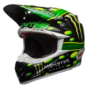 Bell Moto-9 Flex MC Monster Replica 2018 Helmet (Color: Green/Black / Size: XL) 1249036
