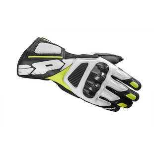 Spidi STR-4 Vent Gloves - Closeout (Color: Black/Yellow/White / Size: SM) 1098628