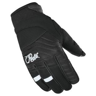 Joe Rocket Big Bang 2.1 Women's Gloves (Color: Black/Black / Size: SM) 1250052