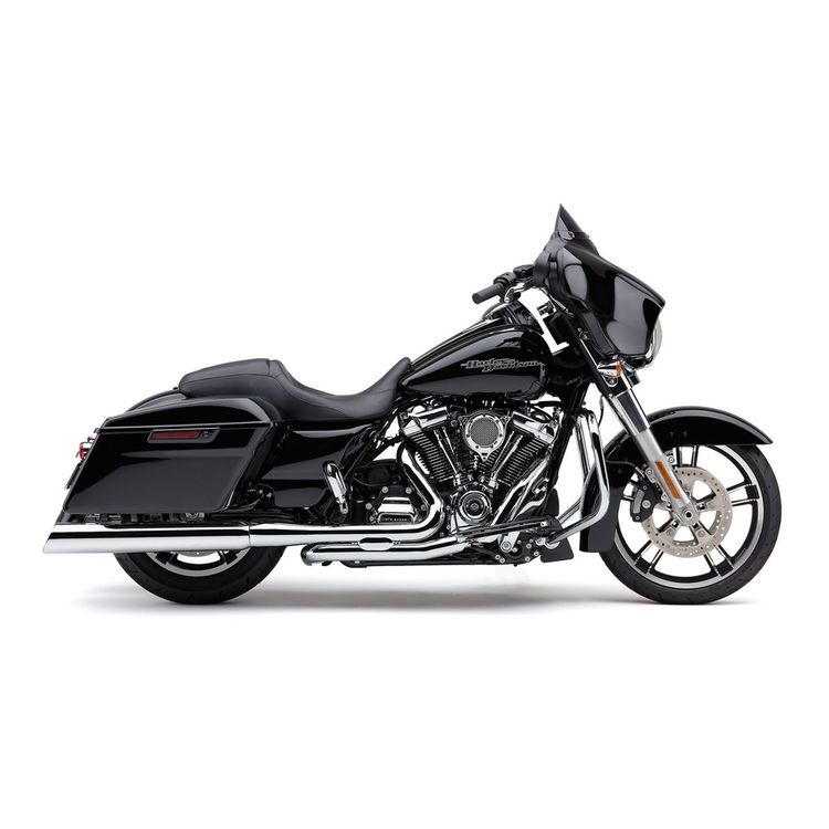 Cobra 909 Slash Down Slip-On Mufflers For Harley Touring 2017-2020