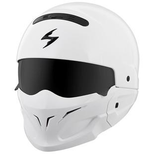 Scorpion Covert White Helmet (Color: White / Size: LG) 1253694