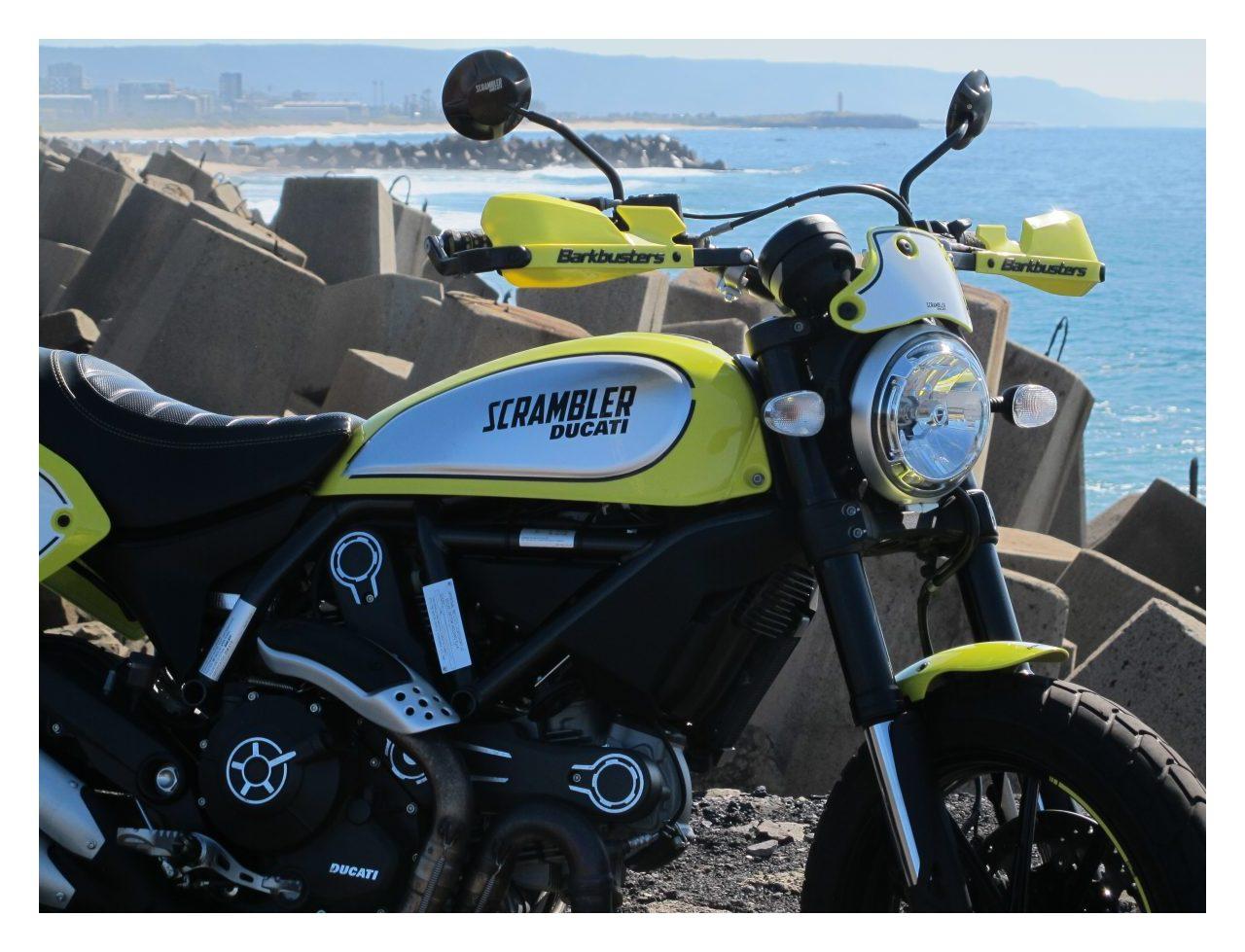Barkbusters Vps Handguard Kit Ducati Scrambler Desert Sled Flat