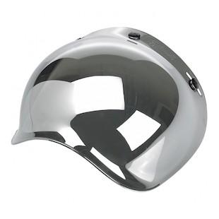 Biltwell Bubble Anti-Fog Face Shield (Color: Chrome Mirror) 1255176