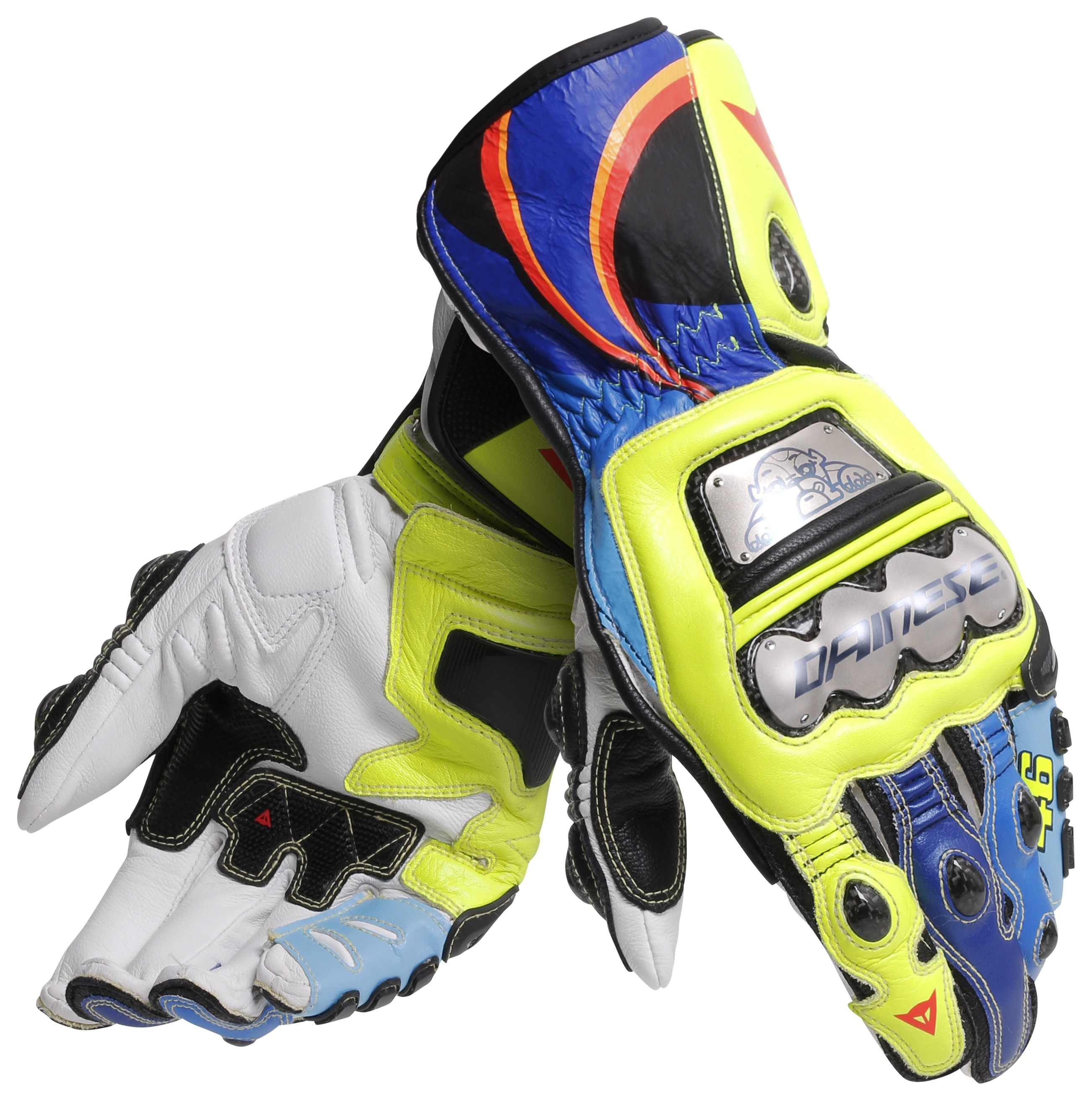 Dainese Full Metal 6 VR46 Replica Gloves - Cycle Gear