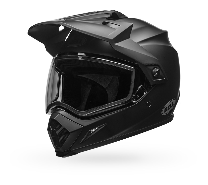 bell mx 9 adventure snow helmet dual lens cycle gear. Black Bedroom Furniture Sets. Home Design Ideas