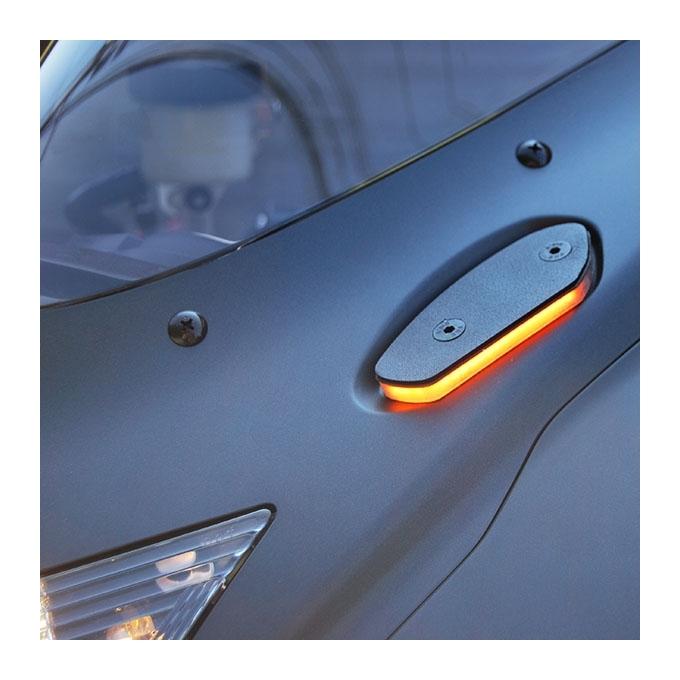 New Rage Cycles Mirror Block Off Led Turn Signals Suzuki