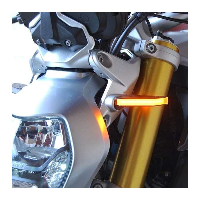 New Rage Cycles LED Front Turn Signals BMW R1200R / R1250R