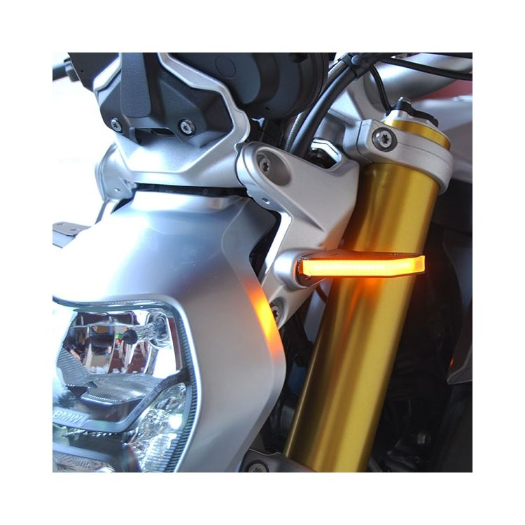 New Rage Cycles LED Front Turn Signals BMW R1200R / R1200RS 2015-2018