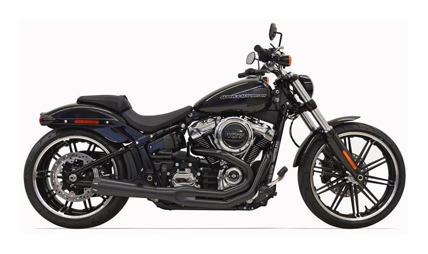 Pro Taper Handlebars >> Bassani Road Rage 2-Into-1 Exhaust For Harley Softail Breakout / Fat Boy 2018 - Cycle Gear