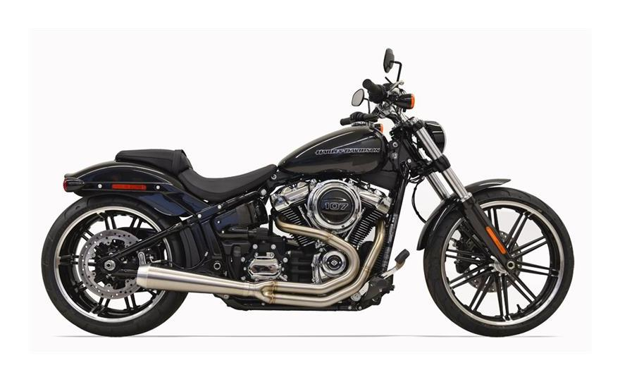 Bassani Road Rage III 2 Into 1 Exhaust For Harley Softail