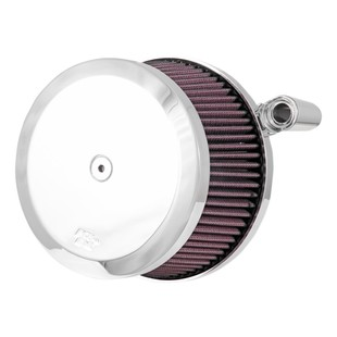 K&N Street Metal High Flow Air Cleaner For Harley Twin Cam 2008-2017 (Finish: Chrome) 1257531