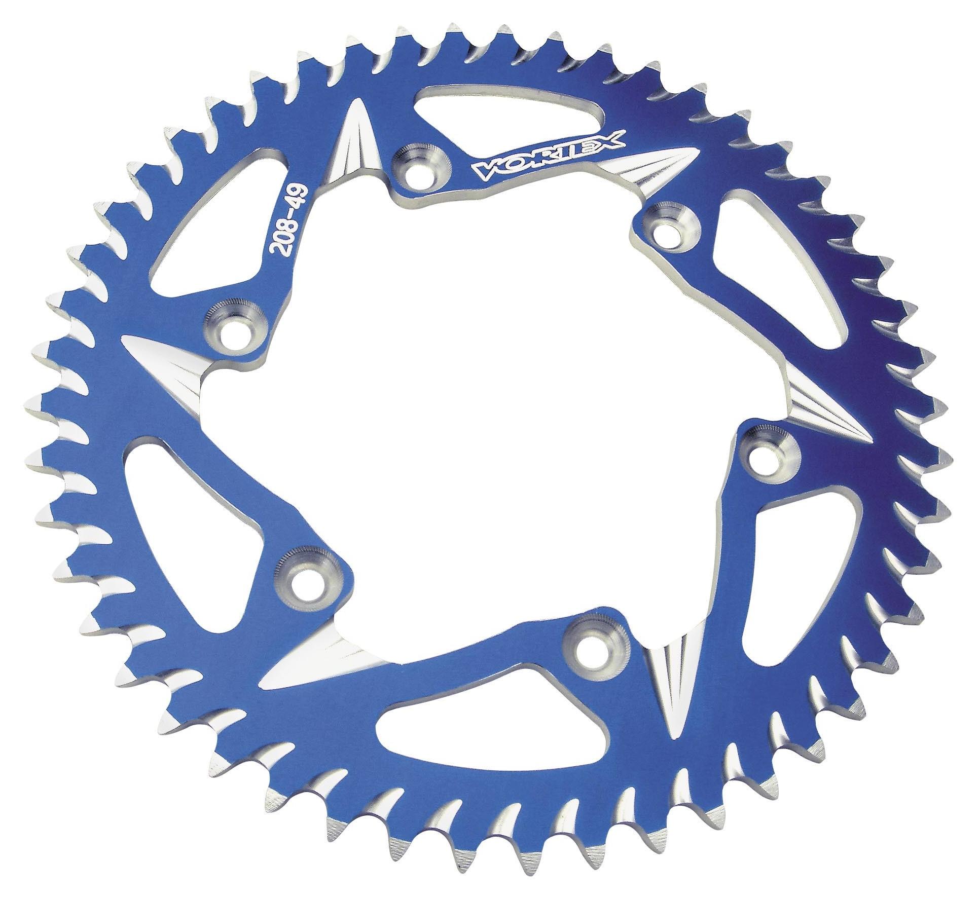Vortex 248ZR-46 Red 46-Tooth Rear Sprocket
