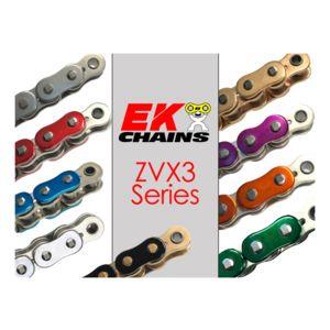 D.I.D 525VX3X110FB Black Steel 525VX3 X-Ring Chain 110 Links