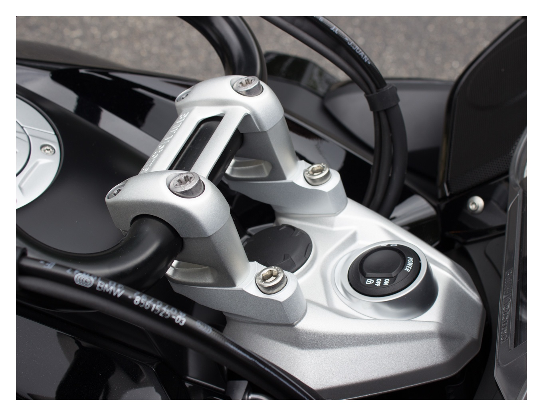 "Handlebar Risers 2/"" 1-1//4/"" Helibars HR05123 For 2018 BMW K1600B"