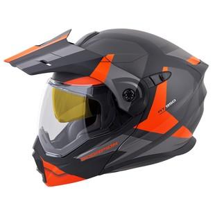 Scorpion EXO-AT950 Neocon Helmet - Dual Lens (Color: Orange / Size: 2XL) 1253683