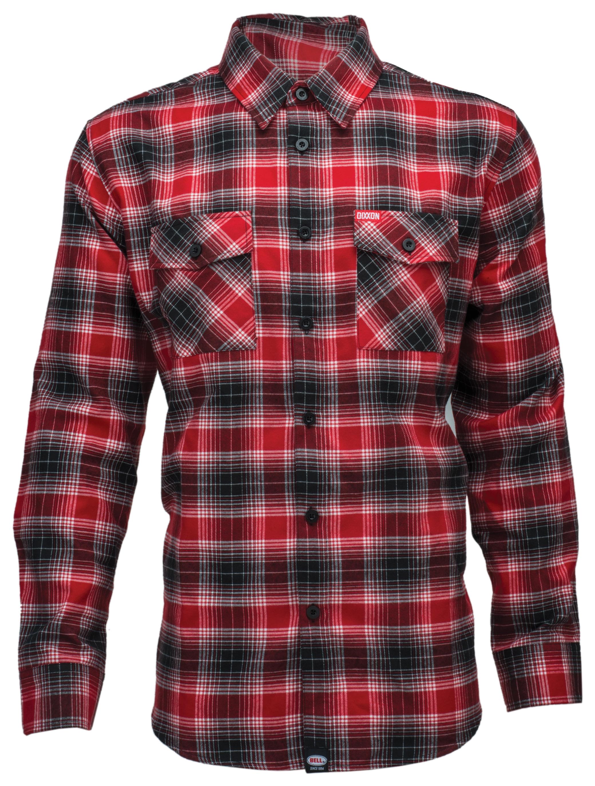 Bell Dixxon X Flannel Shirt Cycle Gear