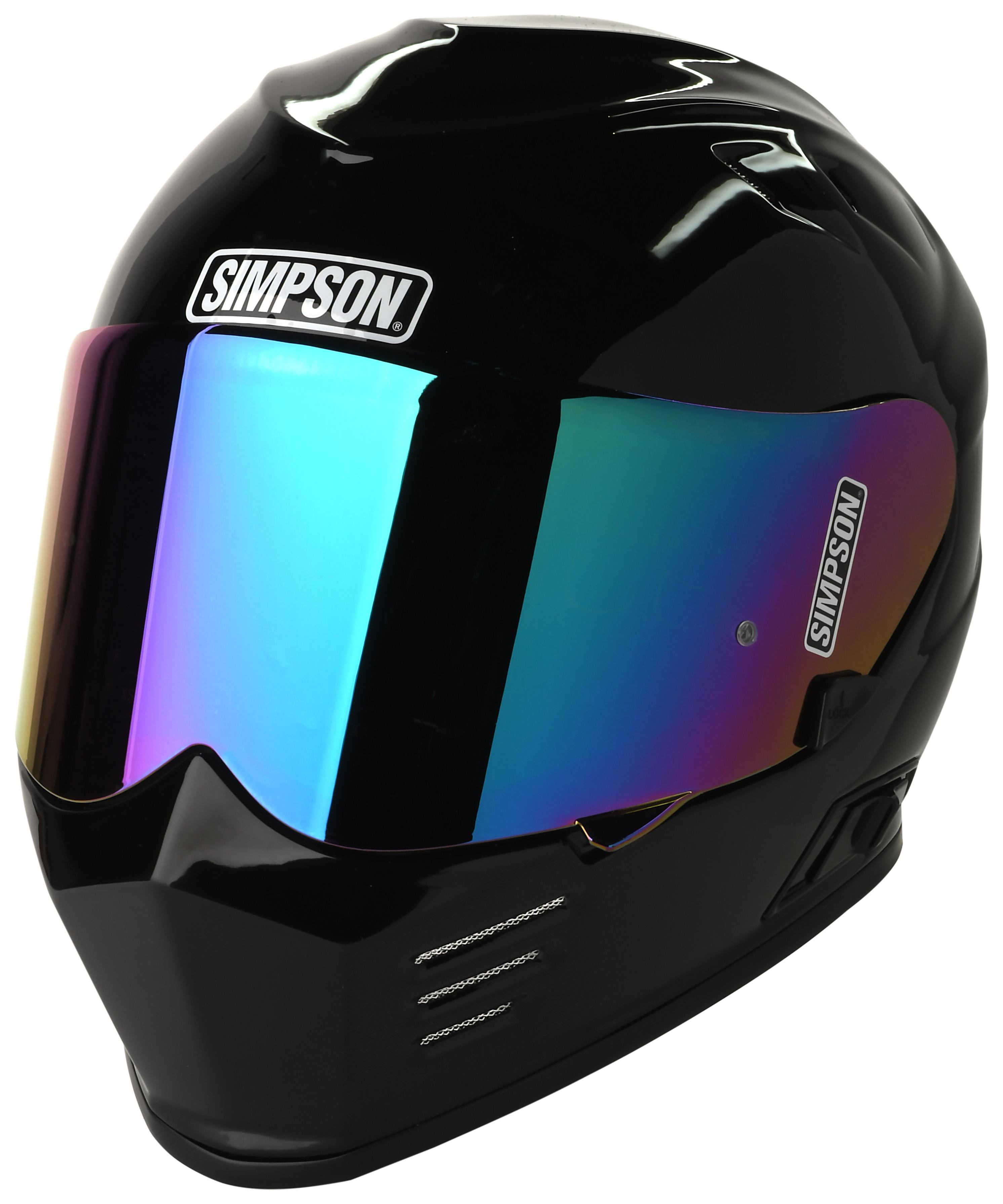 51e237fc Simpson Ghost Bandit Helmet - Cycle Gear