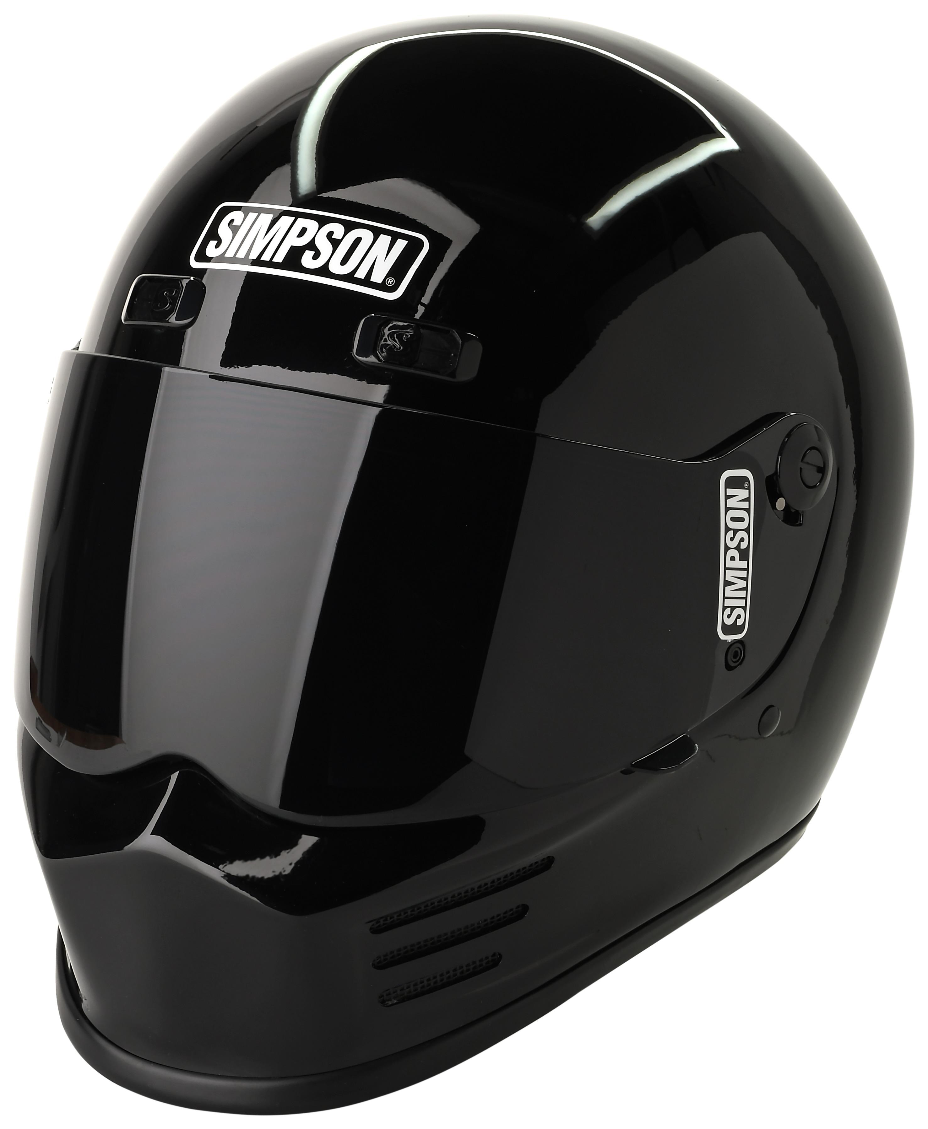 Pro Taper Handlebars >> Simpson Street Bandit Helmet - Cycle Gear