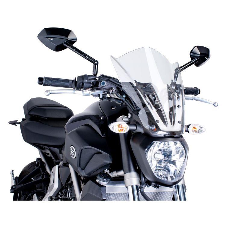 Puig Touring Naked New Generation Windscreen Yamaha FZ-07