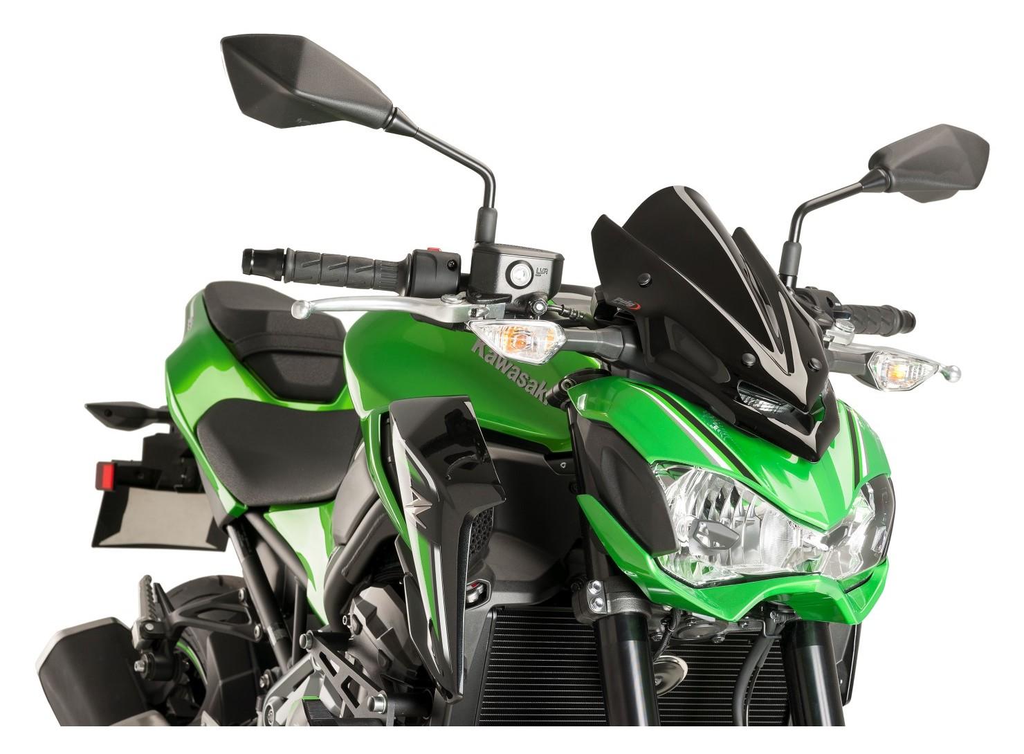 Puig Naked New Generation Windscreen Kawasaki Z900 2017 2018