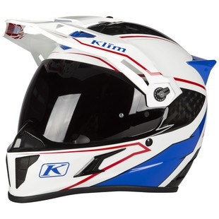 Klim Krios Valiance Helmet (Color: White / Size: XL) 1277220