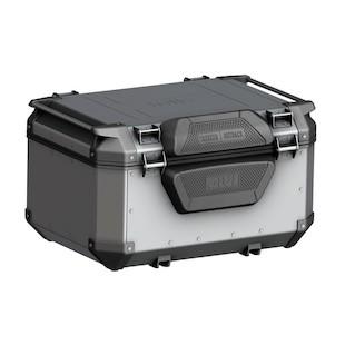 Givi Trekker Outback 58 Liter Monokey Top Case (Type: Top Case + Backrest Pad / Finish: Black) 1279115