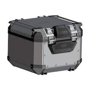 Givi Trekker Outback 42 Liter Monokey Top Case (Type: Top Case + Backrest Pad / Finish: Black) 1279117