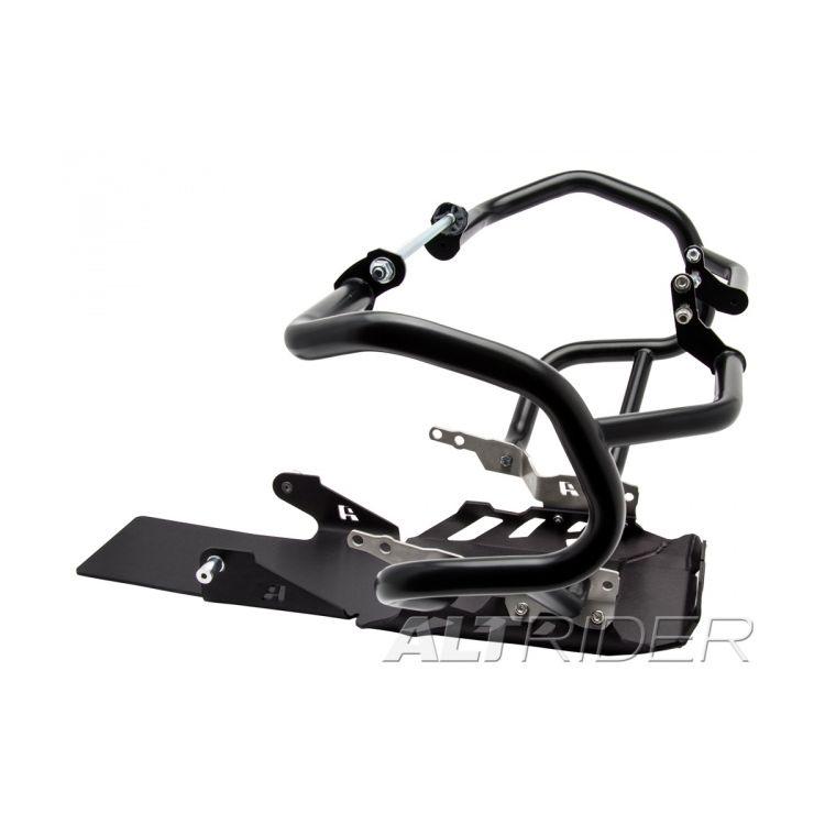 Black Crash Bars / Black Skid Plate