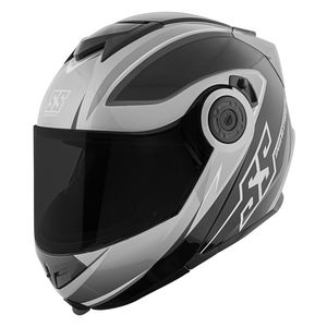 White//Blue FLY Tourist Cirrus Modular Motorcycle Helmet Choose Size