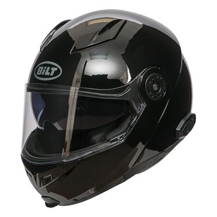 Bilt Techno 2.0 Sena Bluetooth Modular Helmet (Color: Black / Size: XL) 1181241