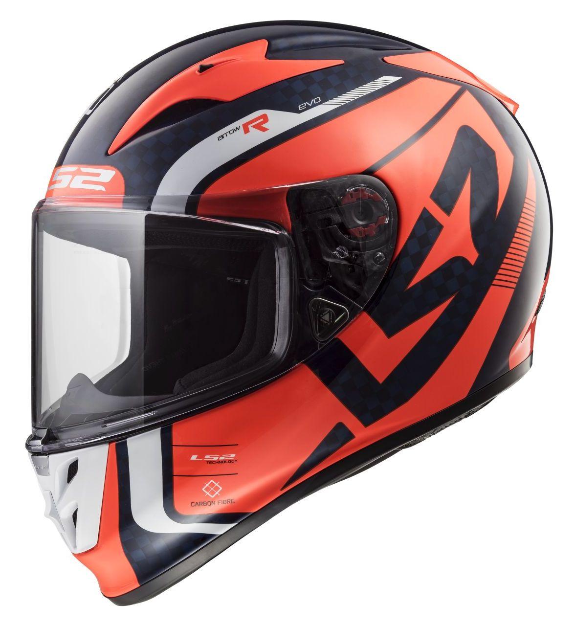 LS2 Arrow Carbon Sting Helmet