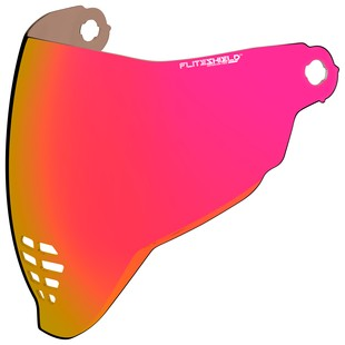 Icon Airflite Face Shield (Color: RST Red) 1286095