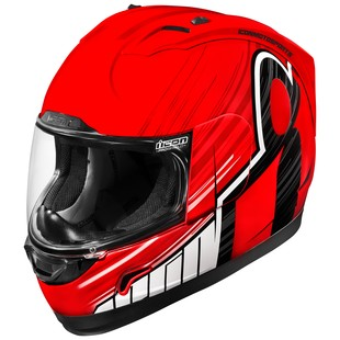 Icon Alliance Overlord Helmet (Color: Red / Size: XS) 1285997