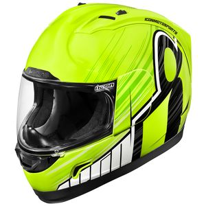 Icon Alliance GT Dark Matte Black Rubatone Full Face Motorcycle Helmet MEDIUM