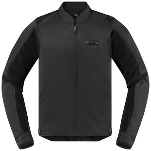Icon Overlord SB2 Stealth Jacket (Color: Black / Size: MD) 1285857