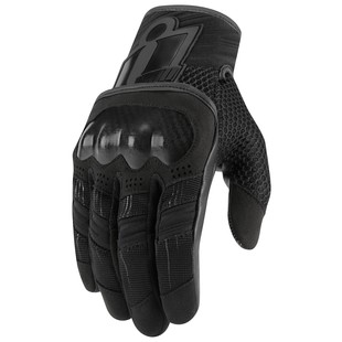 Icon Overlord Women's Gloves (Color: Black / Size: MD) 1285795