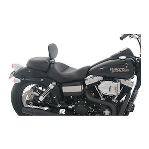 Harley FXDXT Dyna Super Glide T-Sport 2001-2003 Vintage Solo Seat by Mustang