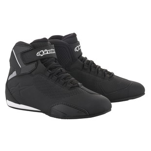 Alpinestars Sektor Vented Shoes (Color: Black / Size: 12) 1286571