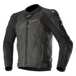 Alpinestars Missile Air Leather Jacket For Tech Air Race (Color: Black/Black / Size: 48) 1244727