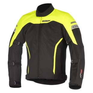 Alpinestars Leonis Drystar Jacket (Color: Black/Yellow / Size: LG) 1286746