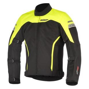 Alpinestars Leonis Drystar Jacket (Color: Black/Yellow / Size: LG) 1286746