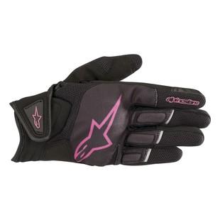 Alpinestars Stella Atom Gloves (Color: Black/Fuchsia / Size: XL) 1286893
