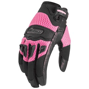 Icon Twenty-Niner Women's Gloves - Closeout (Color: Pink / Size: XS) 604531