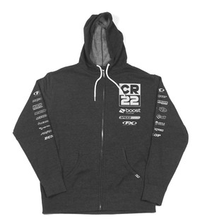 Factory Effex CR22 Team Hoody (Color: Charcoal Heather / Size: XL) 1288208